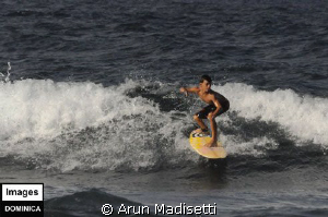 Inaugural surf tournament on the Atlantic coast. by Arun Madisetti 